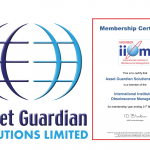 Asset Guardian to exhibit at International Institute of Obsolescence