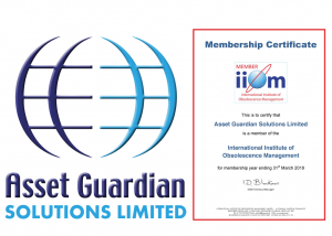 Asset Guardian Solutions Limited to exhibit at the International Institute of Obsolescence Management Conference 2017
