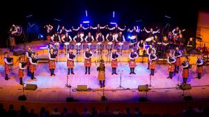 Shotts and Dykehead Caledonia Pipe Band Rise to the Challenge