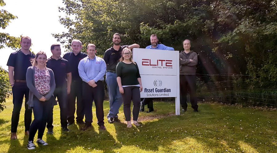 Asset Guardian Solutions Limited joins forces with Elite Control Systems Limited to raise funds for SAMH (Scottish Association for Mental Health)