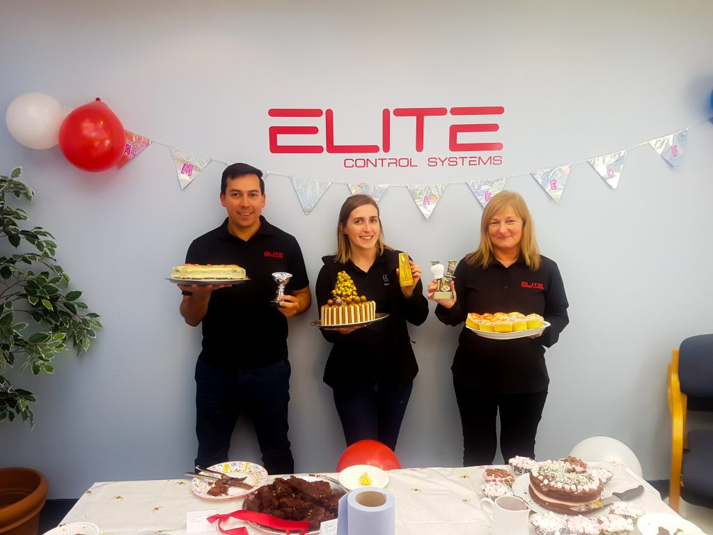 Winners of the Charity Bake Off