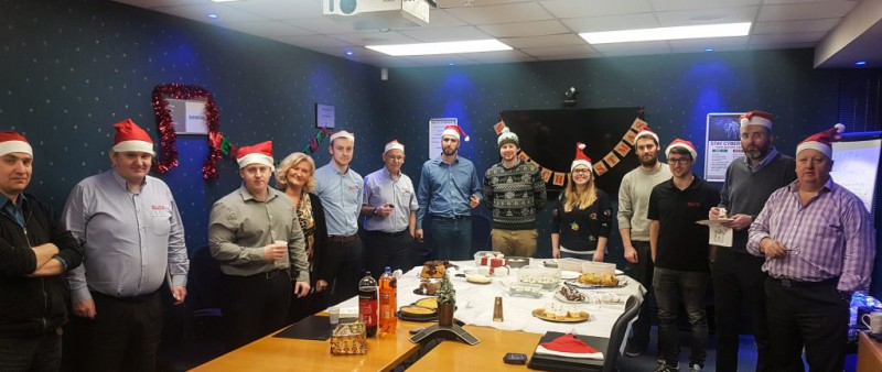 Colleagues from Asset Guardian Solutions Limited hold Christmas Bake Off in aid of SAMH (Scottish Association for Mental Health)
