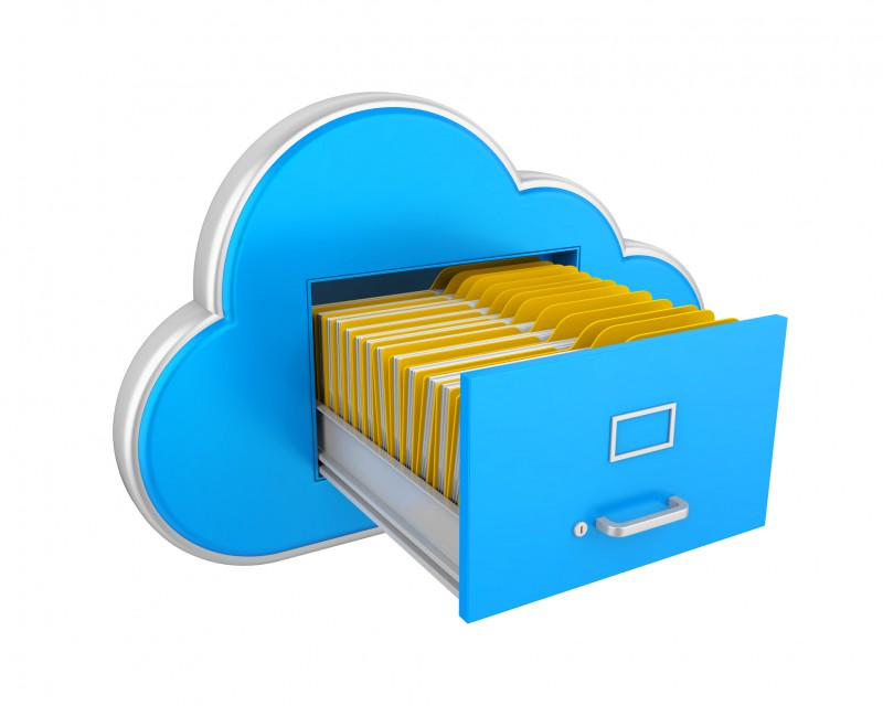 Cloud Storage is a method by which data is stored over one or more servers and locations.